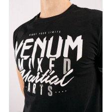 T-shirt Venum MMA Clasics 2.0 Noir/argent