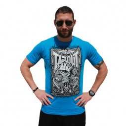 T-shirt Tapout point levé bleu