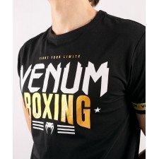 T-shirt Venum Boxing Classics 2.0 Noir/or