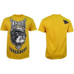 T-shirt Tapout jaune underdogs