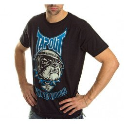 T-shirt Tapout noir underdogs