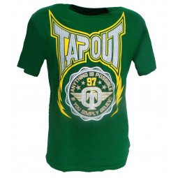 T-shirt Tapout vert
