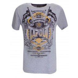 T-shirt Tapout gris