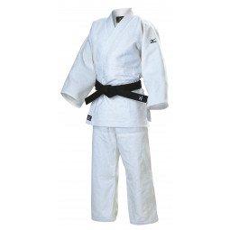 Kimono Judo Compétition Blanc Mizuno Shiai Gi