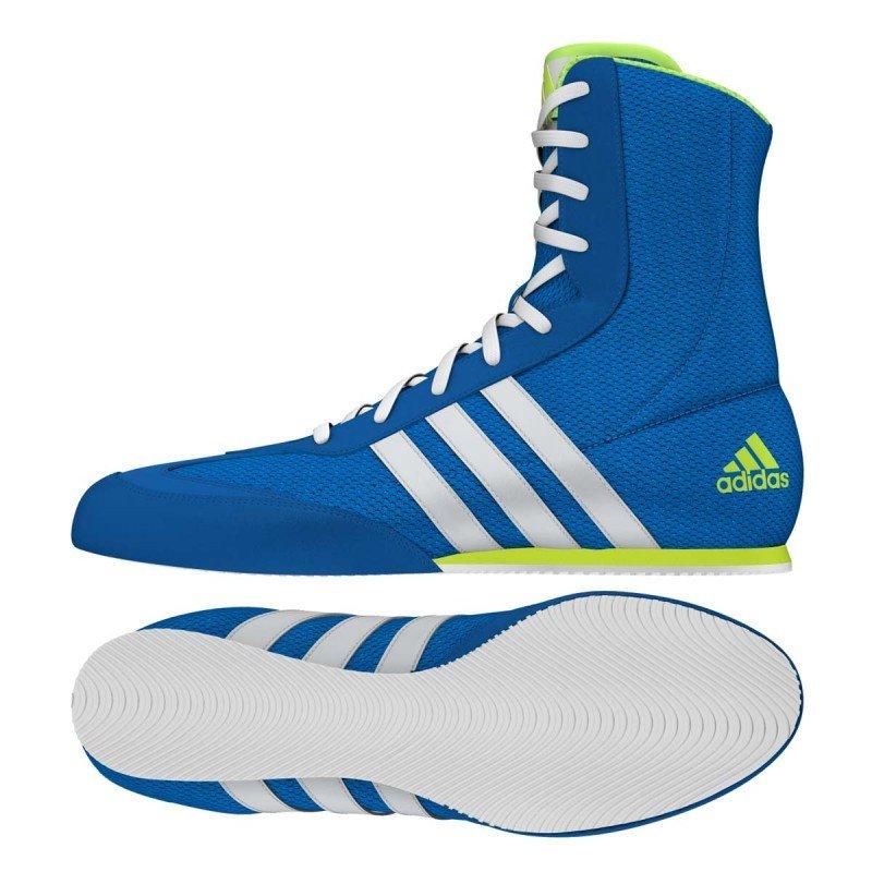 Chaussures Boxe Anglaise Adidas Box Hog bleues