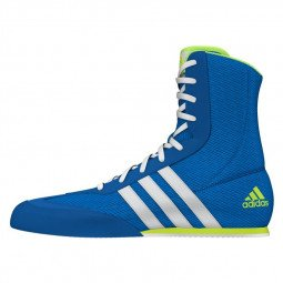 Chaussures Boxe Anglaise Adidas Box Hog bleues