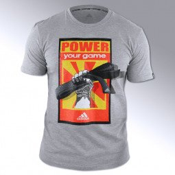 T-shirt Arts Martiaux Power your game