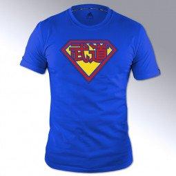 T-shirt Arts martiaux bleu