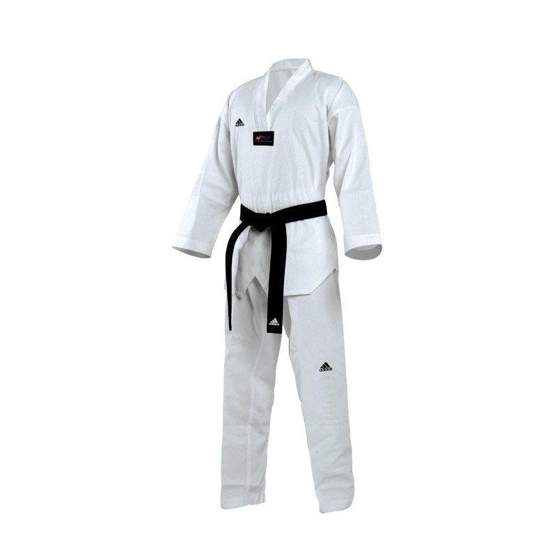 Dobok Taekwondo Adi-Champion II Col blanc