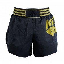 Short Kick Boxing Noir/Or