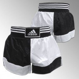Short Kick Boxing Noir/Blanc