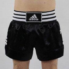 Short Boxe Thaï noir/blanc