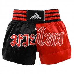 Short Boxe Thaï noir/rouge