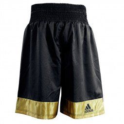 Short Multiboxe noir/or
