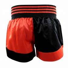 Short Kick Boxing Noir/Rouge
