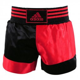 Short Kickboxing Noir/Rouge