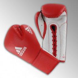 Gants de boxe Glory Blanc/Rouge