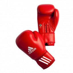 Gants de Boxe Compétition Amateur Rouge