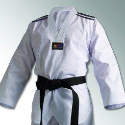 Dobok Taekwondo Adi Club bandes noires