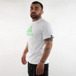 T-shirt Combat Graphic Tee blanc/vert