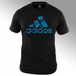 T-shirt Combat Graphic Tee noir/bleu