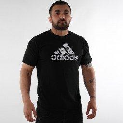T-shirt Combat Graphic Tee noir/blanc