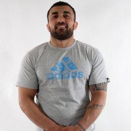 T-shirt Combat Graphic Tee gris/bleu