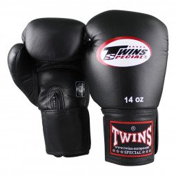 Gants de boxe Twins BGVF noir