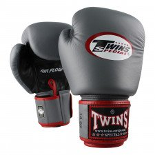 Gants de boxe Twins BGVL 3 Air Flow Noir/Gris