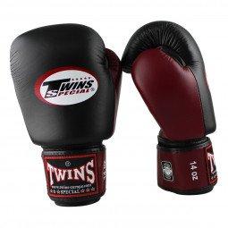 Gants de boxe Twins BGVL 3 Noir/Bordeaux