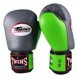 Gants de boxe Twins BGVL 3 Gris/vert