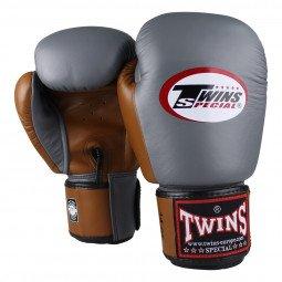 Gants de boxe Twins BGVL 3 Retro Gris/Marron