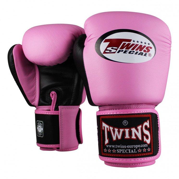 14 12 16/G Twins sp/éciales Muay Thai Gants en Cuir Noir Bleu Rose Rouge Blanc 8 10