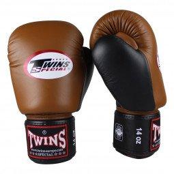 Gants de boxe Twins BGVL 3 Marron/Noir
