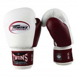 Gants de boxe Twins BGVL 3 Blanc/Bordeaux