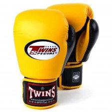 Gants de boxe Twins BGVL 3 Jaune/Noir