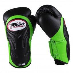 Gants de boxe BGVL 6 Noir/Vert