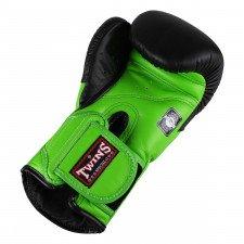 Gants de boxe Twins BGVL 6 Noir/Vert