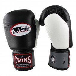 Gants de boxe Twins BGVL 4 Noir/Gris