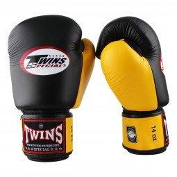 Gants de boxe BGVL 3 Noir/Jaune
