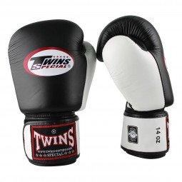 Gants de boxe Twins BGVL 3 Noir/Blanc
