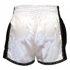 Short Boxe Thai TBT Pro Blanc