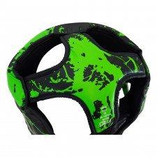 Casque de boxe HGL B2 Youth Marbre vert