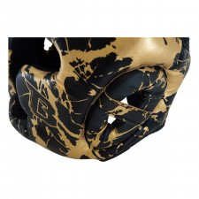 Casque de boxe HGL B2 Youth Marbre or