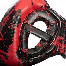 Casque de boxe HGL B2 Youth Marbre rouge