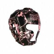 Casque de boxe HGL B2 Youth Marbre rose