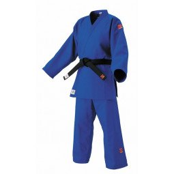 Kimono Judo Sensei IJF Bleu