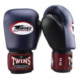 Gants de boxe Twins BGVL 4 Bordeaux/Bleu
