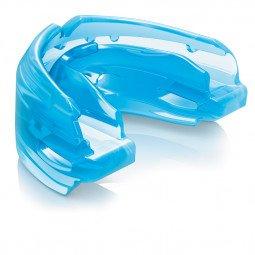 Protège Dents Shock Doctor Double Braces Pour Bagues Bleu