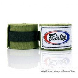Bandes de Boxe Fairtex Green Olive